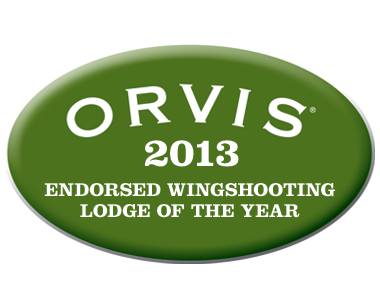 2013 Orvis Endorsed Wingshooting Lodge of the Year